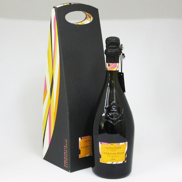 【レトロ】ヴーヴクリコ ラ・グランダム ブリュット 1996 エミリオ・プッチ 750ml 正規品 (豪華化粧箱入り)