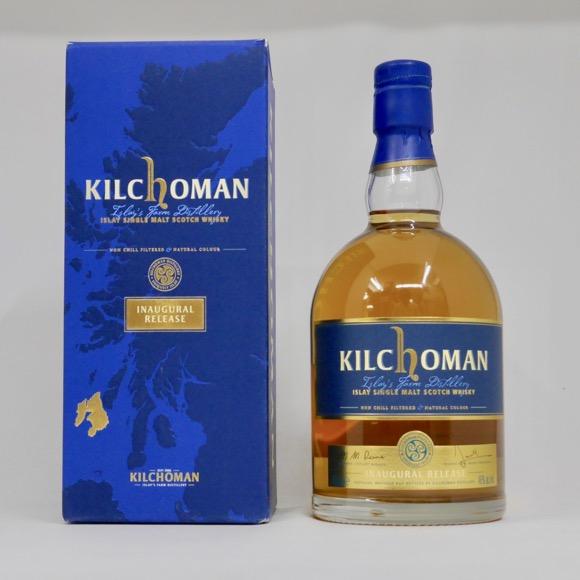 キルホーマン INAUGURAL(イノーギュラル) RELEASE 46度 700ml 正規品 (専用化粧箱入り)