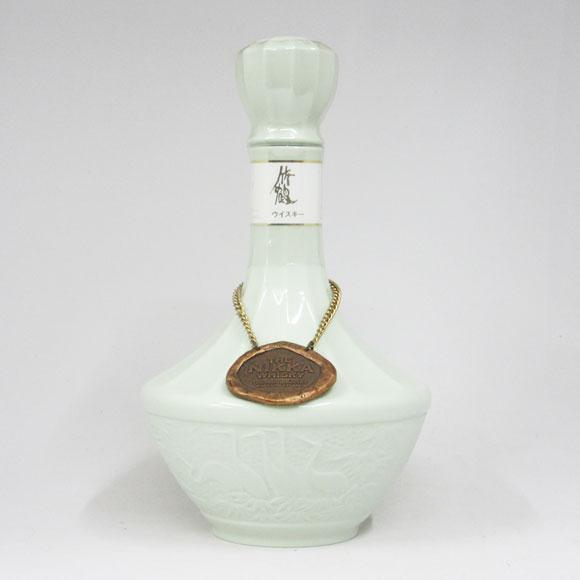 ニッカウヰスキー 竹鶴 青磁陶器 43度 750ml (箱なし)