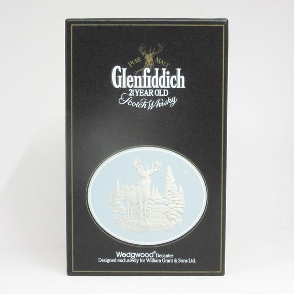 【レトロ】グレンフィディック 21年 43度 750ml ウェッジウッド 並行品 (専用化粧箱入り)