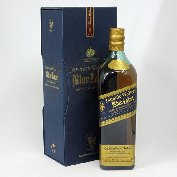【専用BOX入り:19912578T】【旧ボトル】ジョニーウォーカー ブルーラベル 43度 750ml 並行輸入品