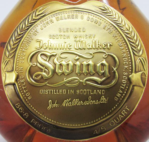 尊尼获加威士忌摇动43度750ml并进进口商品(没有箱子)