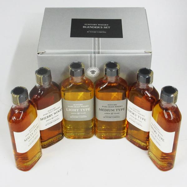 【レトロ】サントリー特製ウイスキー ブレンダーズセット 原酒12年150ml×6本