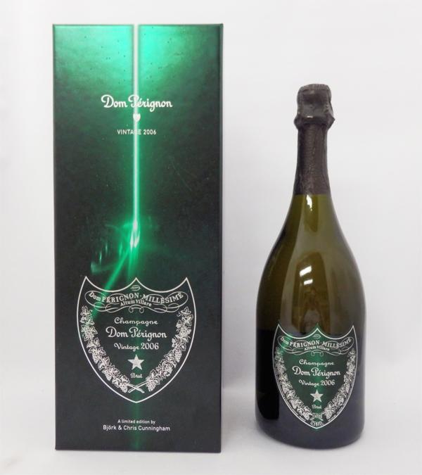 ドンペリニヨン 白 2006年 ビョーク&カニンガム 750ml 正規品 (ギフトパッケージ入り)