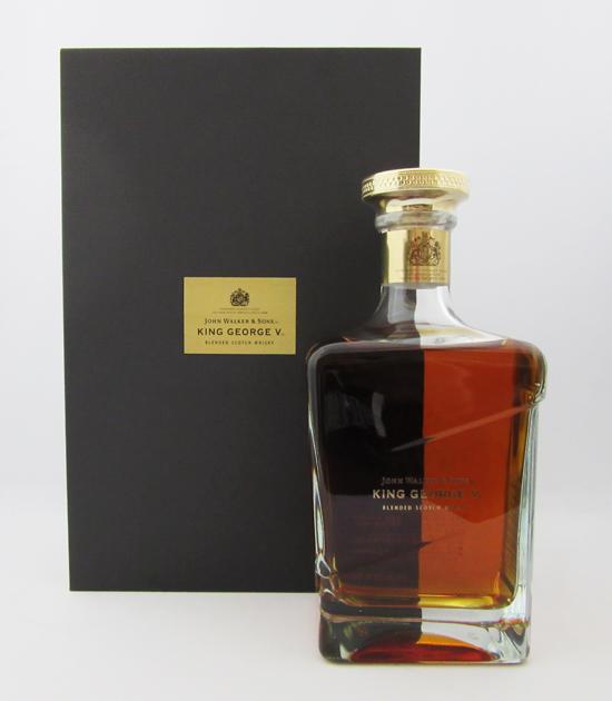 ジョニーウォーカー キングジョージ5世 43度 750ml 正規品 (豪華化粧箱入り)