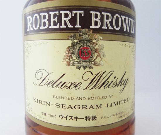 로버트 브라운 디럭스 위스키 43도 760 ml