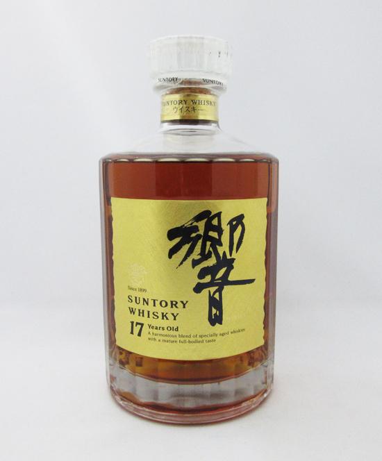 【レトロ】響 17年 ゴールドラベル 43度 750ml (箱なし)
