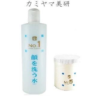 顔を洗う水 No.1ウォータークリーナー500ml+No.5ウォーターゲル 500g