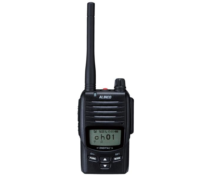 【ラッキーシール対応】 DJ-DP50H アルインコ 5W デジタル30ch (351MHz) ハンディトランシーバー RALCWI方式