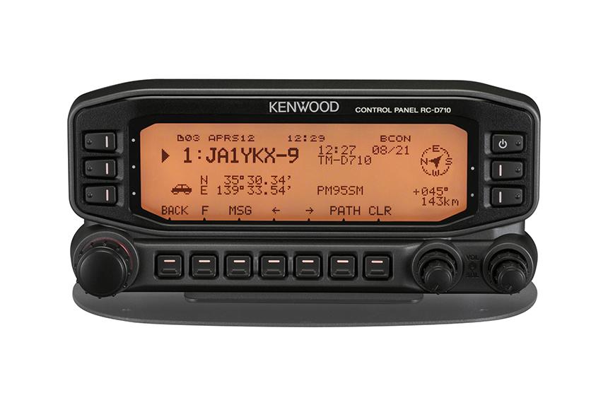 【ラッキーシール対応】 RC-D710 ケンウッド コントロールパネル APRS内蔵のスタンドアローンTNC