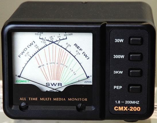 CMX-200 COMET 全国どこでも送料無料 SWRパワーメーター コメット アウトレット☆送料無料