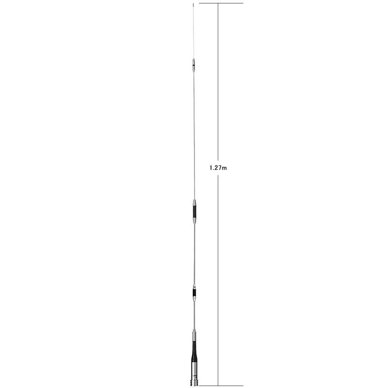 【ラッキーシール対応】 SG7700 ダイヤモンド 144/430MHz帯高利得2バンドモービルアンテナ(レピーター対応型)(D-STAR対応)