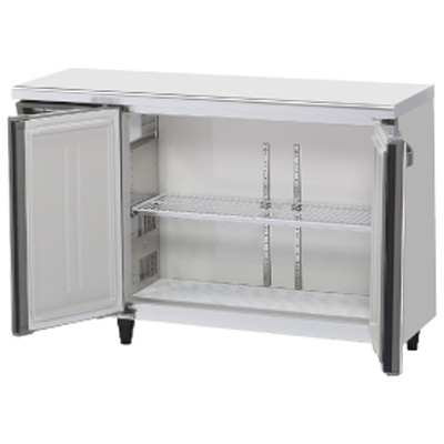 新品:ホシザキ ご注文で当日配送 業務用テーブル形冷蔵庫 横型冷蔵庫 安値 RT-120MNCG-ML 送料無料 ワイドスルー ホシザキ