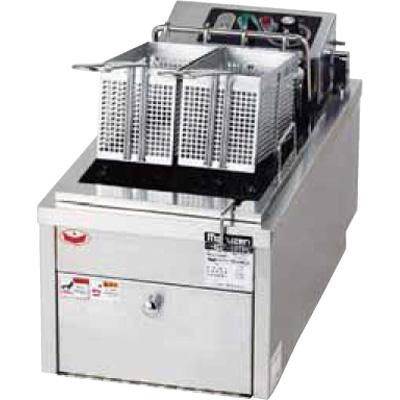 MEF-10TPD (旧MEF-10TPC) マルゼン 電気フライヤー 卓上タイプ 卓上フライヤー ファーストフードタイプ 1槽式 10L 送料無料