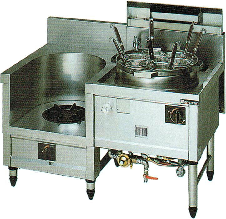 MR-562B マルゼン 中華レンジ 内管式デラックス型 スープ・ゆで麺 送料無料