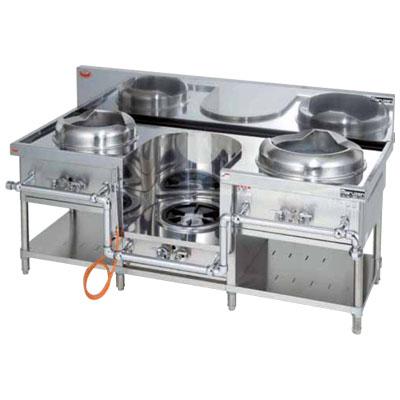 MRS-103E マルゼン 中華レンジ 外管式標準型 イタメー・スープ・ソバ 送料無料