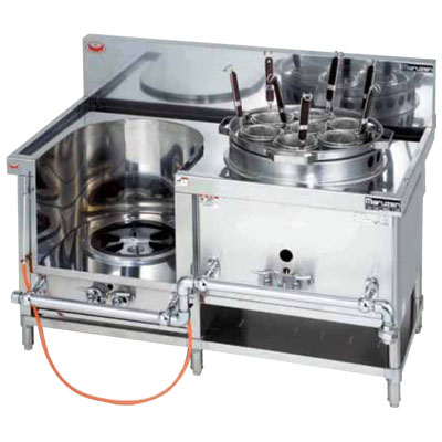 MRS-172E マルゼン 中華レンジ 外管式標準型 スープ・ゆで麺 送料無料