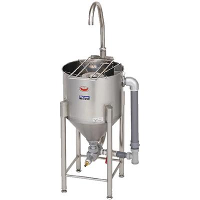 MRW-D14 マルゼン ドラフト水圧洗米機 送料無料