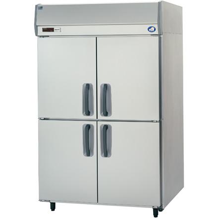 SRF-K1283SA パナソニック たて型冷凍庫 センターピラーレス 業務用 送料無料
