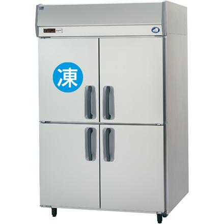 SRR-K1283CS パナソニック たて型冷凍冷蔵庫 1室冷凍タイプ 下室センターピラーレス 業務用 送料無料
