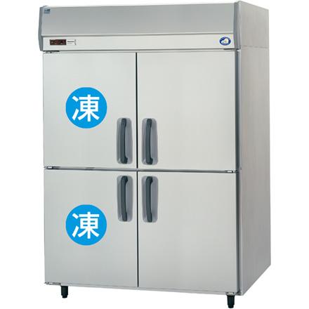 SRR-K1561C2 パナソニック たて型冷凍冷蔵庫 2室冷凍タイプ 業務用 送料無料