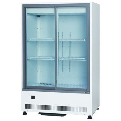 MU-0914X サンデン 冷蔵ショーケース スライド扉タイプ キュービックタイプ 送料無料