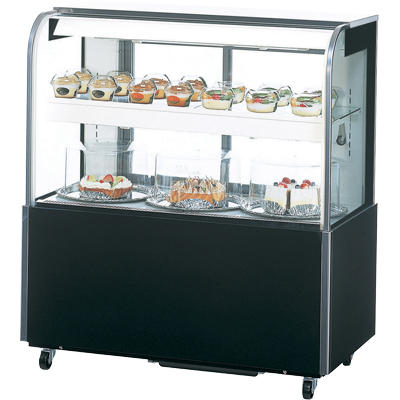 TSR-B090XB サンデン 対面ショーケース 冷蔵ショーケース 送料無料
