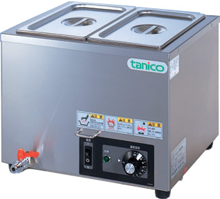 N-TCW-3730E-2 タニコー 電気式ウォーマー 卓上タイプ フードウォーマー スープウォーマー 送料無料
