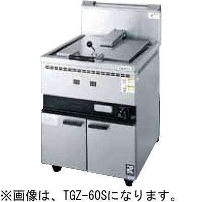 TGZ-60S タニコー ガス餃子グリラー 餃子焼器 送料無料