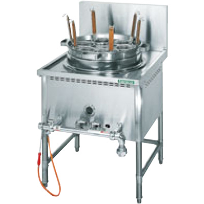 TU-1N タニコー ガスゆで麺器 中華ゆで麺器 送料無料