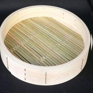 桧中華セイロ 48cm 身 輪高10.5cm