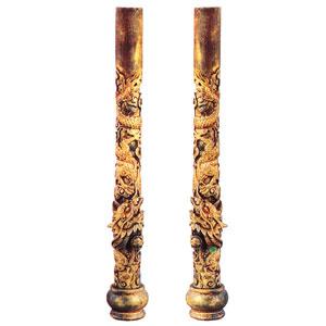 龍の柱 一対A