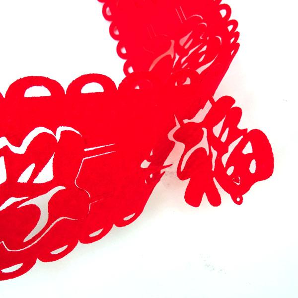 中国 台湾 香港 東南アジア 旧正月 春節飾り 販売 福の帯飾り垂れ幕型 ギフト
