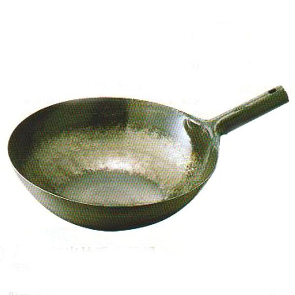 鉄打出片手中華鍋 45cm 板厚1.6mm