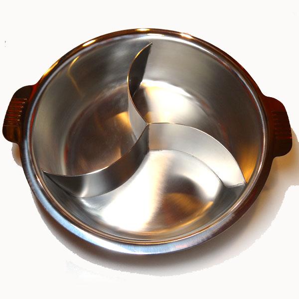 3槽チリ鍋 33cm