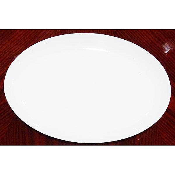 高品質のお皿を超特価価格でご提供 アウトレット ウルトラホワイト 買収 メタ玉プラター 12吋 商い 30cm 楕円皿 大皿