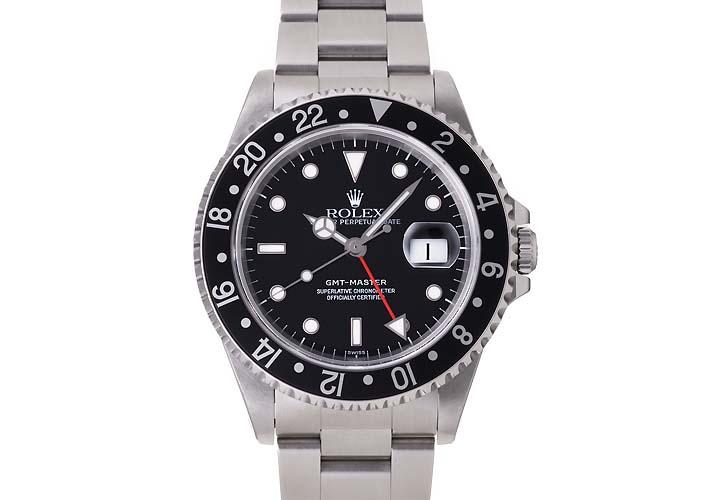 롤렉스 GMT 마스터 Ref.16700 1999 년 (ROLEX GMT MASTER Ref.16700 Ca.1999)