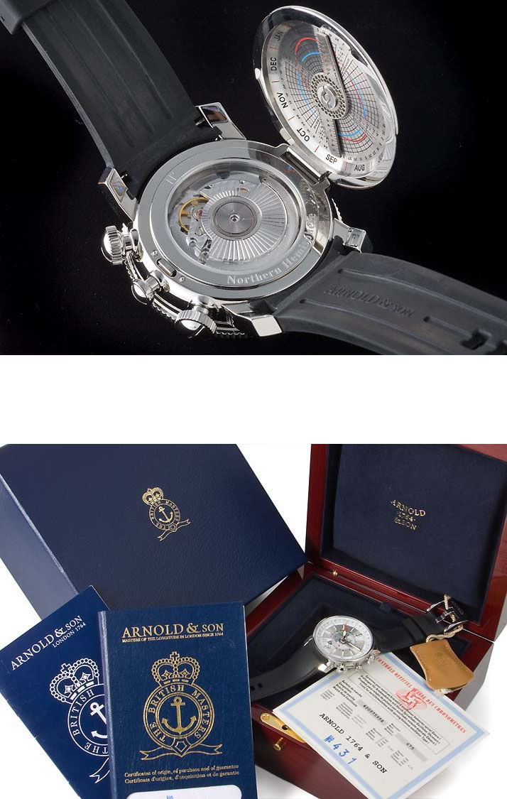 HOLD 아놀드&산론지츄드 2 Ref. 1 L2AS.S02A.K02B (ARNOLD&SON LONGITUDE 2 Ref. 1 L2AS.S02A.K02B)