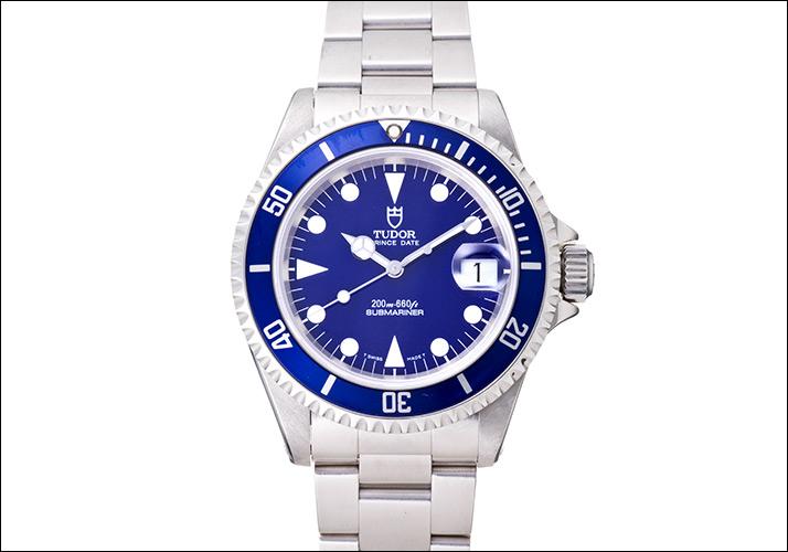 관이 달러 프린스 하루 하위 정박 소 파랑 하위 정박 소 Ref.79190 (TUDOR PRINCE DATE SUBMARINER BLUE DIAL Ref.79190)