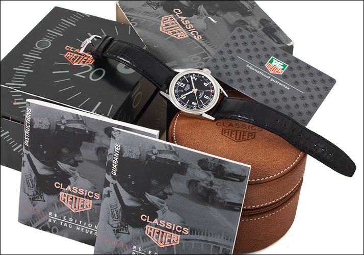 Tag Heuer Carrera GMT Ref.WS2113 (TAG HEUER CARRERA GMT Ref.WS2113)