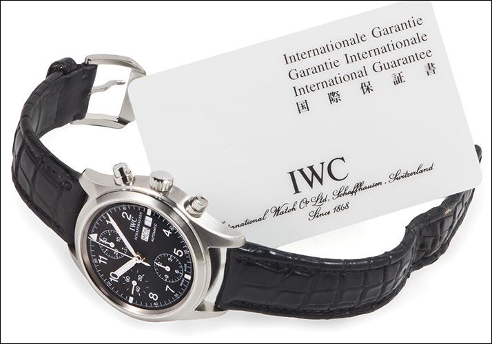 IWC 기계 フリーガー 크로 노 그래프 Ref.3706 (IWC MECHANICAL FLIEGER CHRONOGRAPH Ref.3706)