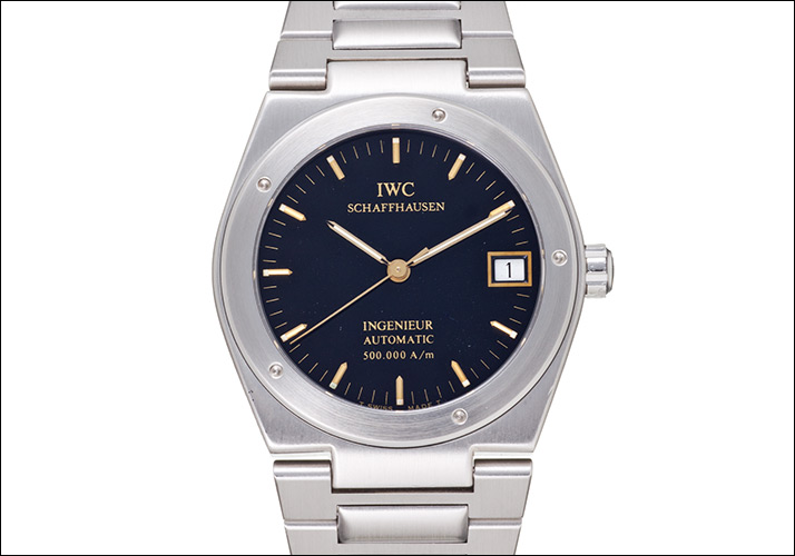 IWC Ingenieur Ref.3508 500,000 A / m in 1989-1992, 614 pieces limited (IWC INGENIEUR Ref.3508 500,000 A / m Ca.1989-1992 614 PIECES LIMITED))