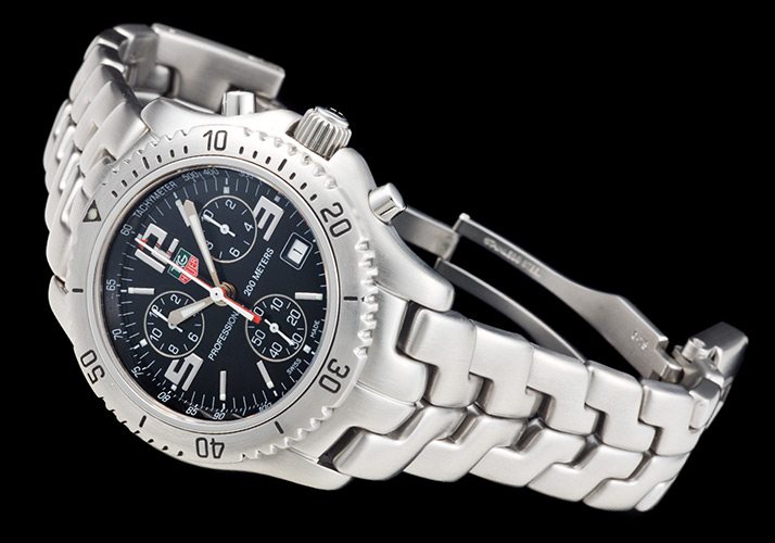 Tag Heuer link chronograph Ref.CT1111 (TAG HEUER LINK CHRONOGRAPH Ref.CT1111)