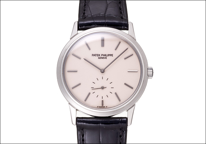Patek Philippe Calatrava Ref.3718 off-white dial 150 anniversary Memorial Japan limited, 1989 (PATEK PHILIPPE CALATORABA Ref.3718 OFFWHITE DIAL 150th ANNIVERSARY JAPAN LIMITED MODEL Ca.1989)
