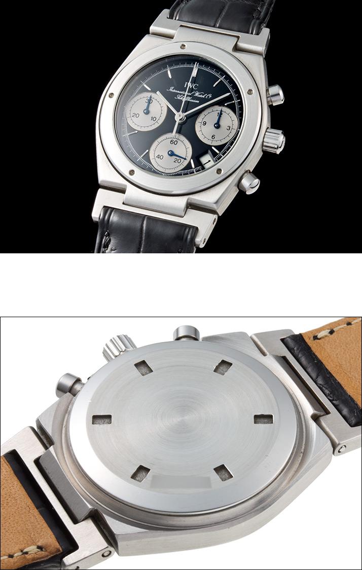IWC Ingenieur chronograph Ref.3733 1988-1992 (IWC INGENIEUR CHRONOGRAPH Ref.3733 Ca.1988-1992)