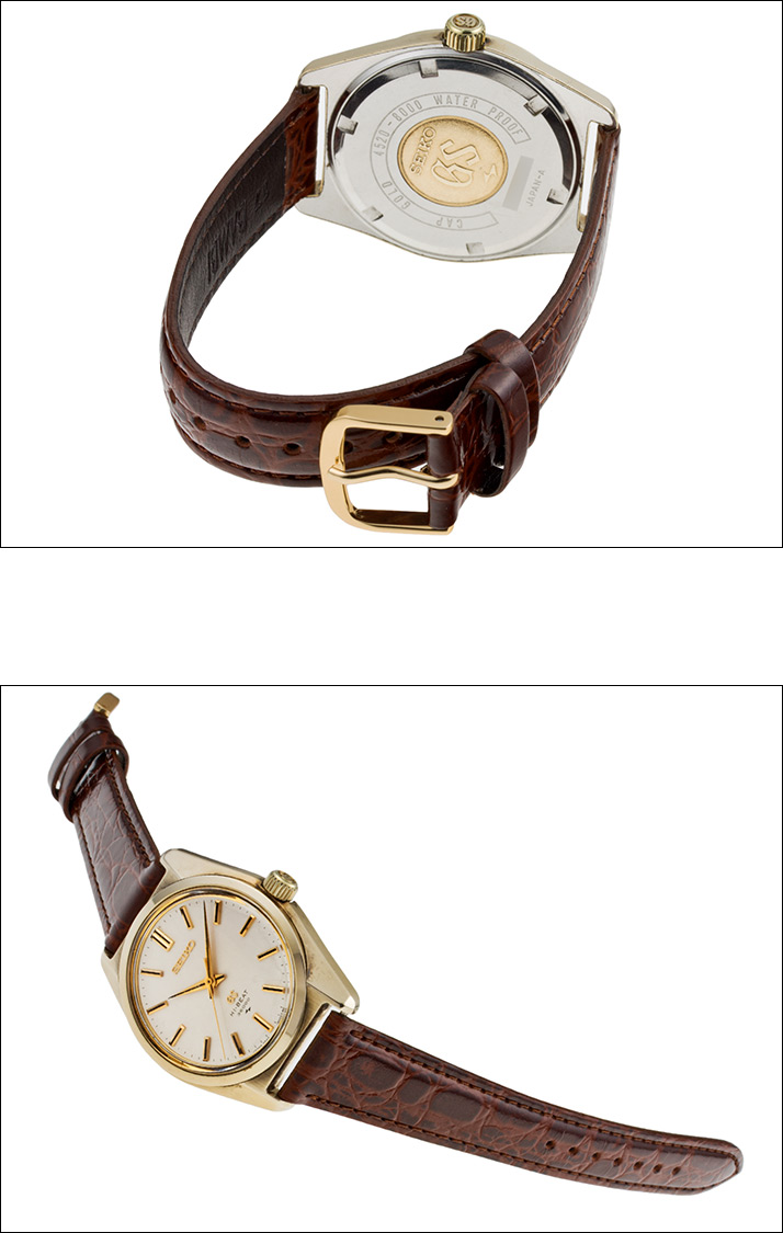그랜드 세이 코 45GS CAP GOLD Ref.4520-8000 1969 년 (GRAND SEIKO 45GS CAP GOLD Ref.4520-8000 Ca.1969)