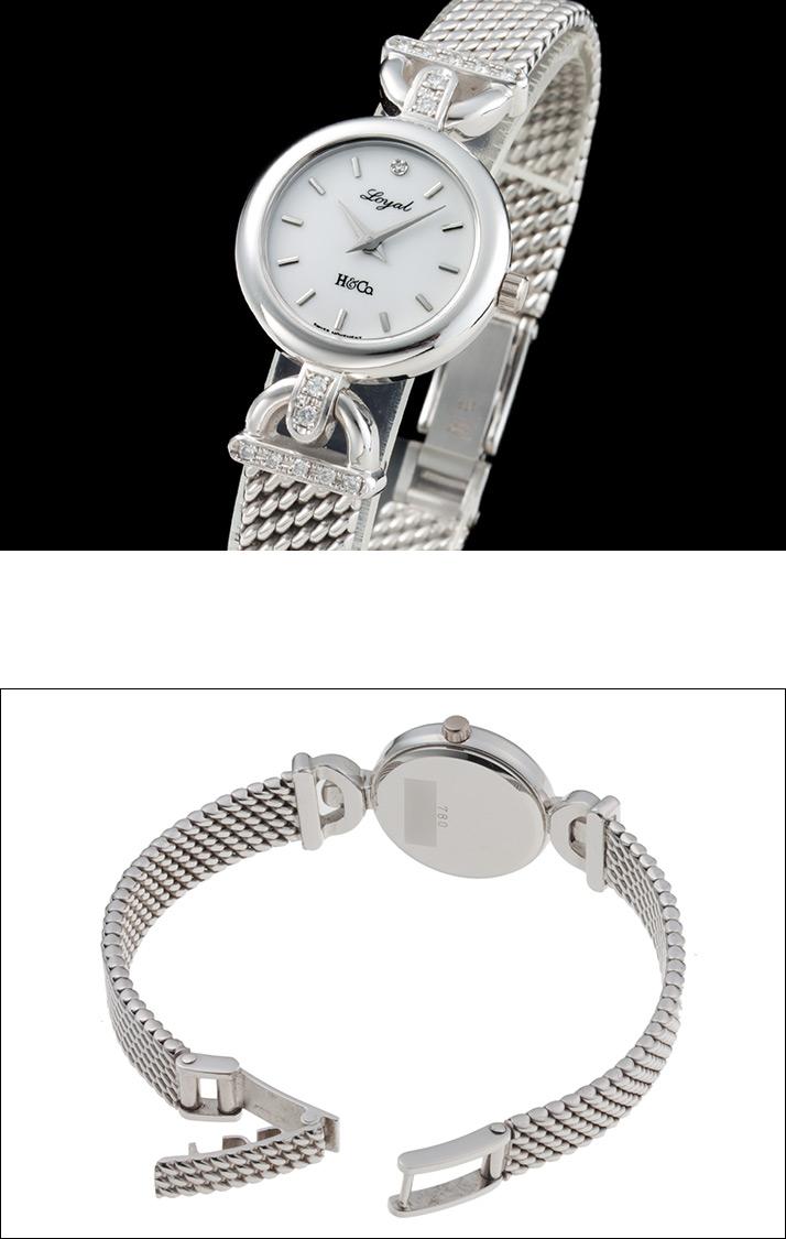 H & Co. Royal Ref.10020.52 1P white dial