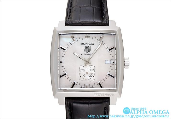 Tag Heuer Monaco Ref.WW2112 white shell dial