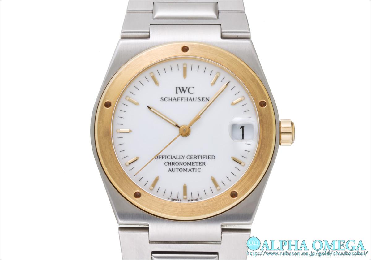 IWC Ingenieur Ref.3521 White Dial-1993-1996 (IWC INGENIEUR Ref.3521 WHITE DIAL Ca.1993-1996)