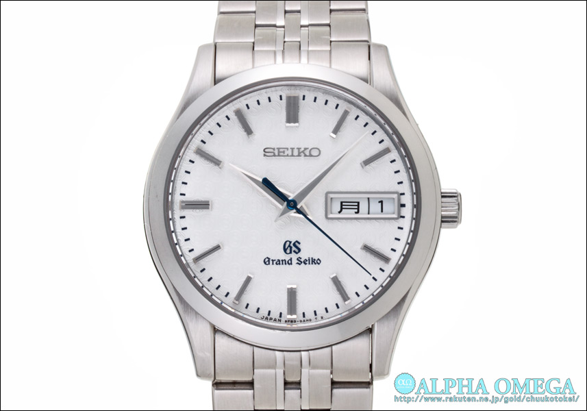 그랜드 세이 코 9F 쿼 츠 Ref.9F83-0AK0, SBGT039 130 주년 기념 모델 1000 개 한정 2011 년 (GRAND SEIKO 9FQUARTZ Ref.9F30-0AK0, SBGT039 130th ANNIVERSARY LIMITED EDITION Ca.2011)